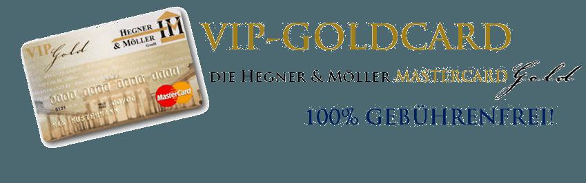 VIP-GOLDCARD Kreditkarten