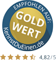 Bewertungen auf KennstDuEinen.de