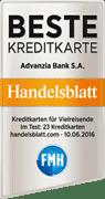 Kreditkarte Advanzia Bank