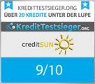 KreditTestsieger Siegel