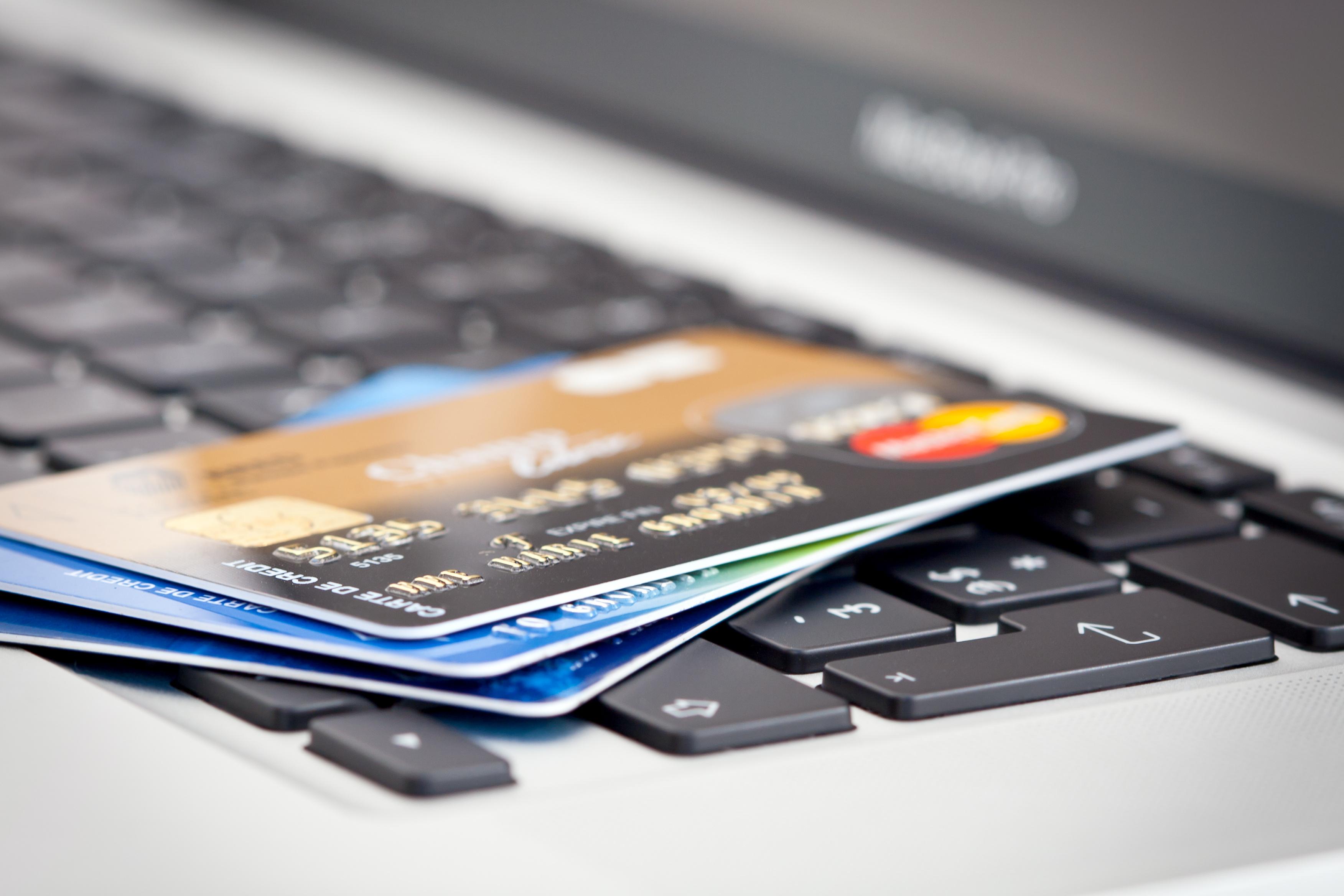 richtige Kreditkarte