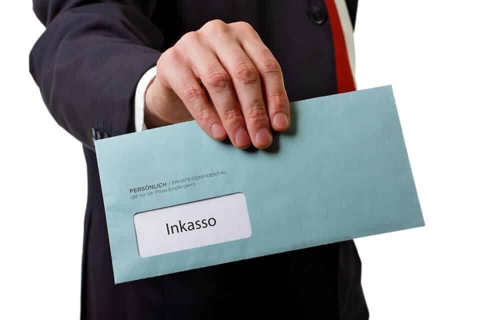 Inkasso Brief erhalten