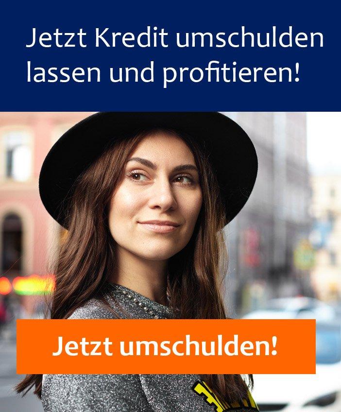 Kreditumschuldung Banner