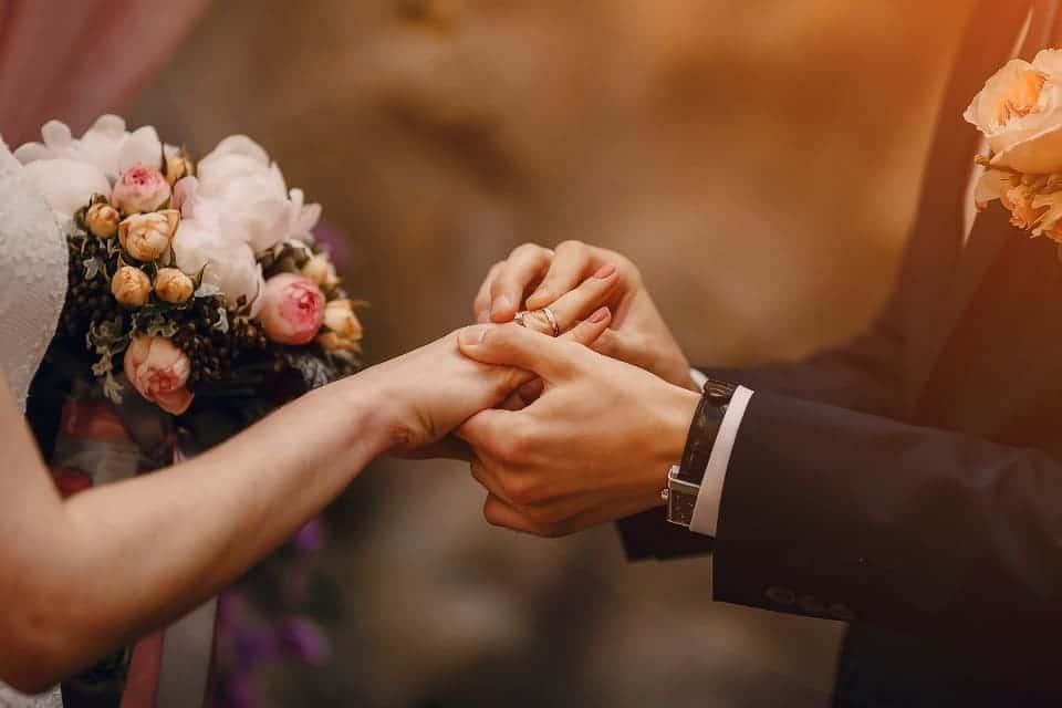 Steuern sparen durch eine Hochzeit