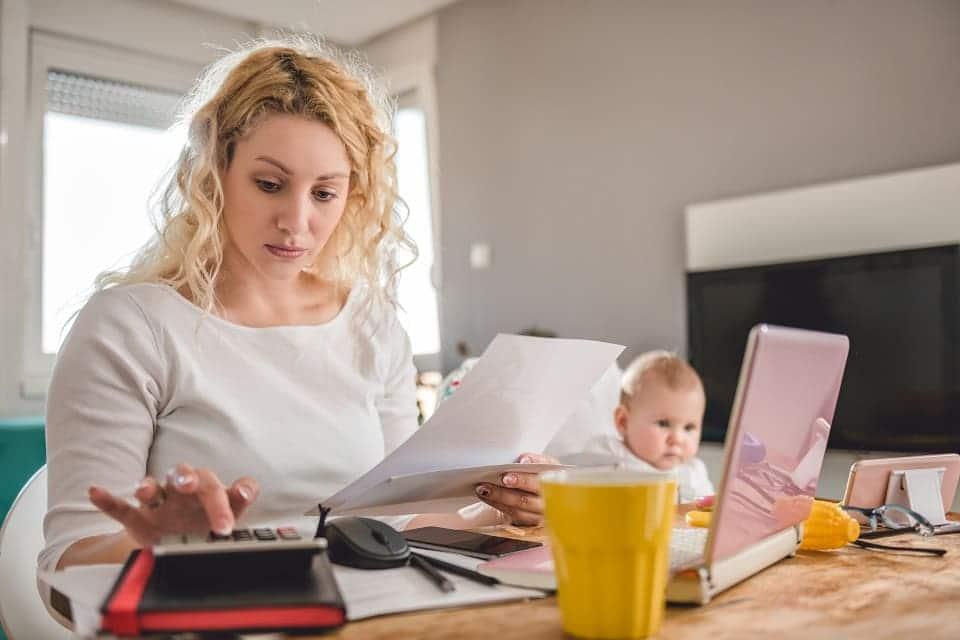 Kredit ín der Elternzeit