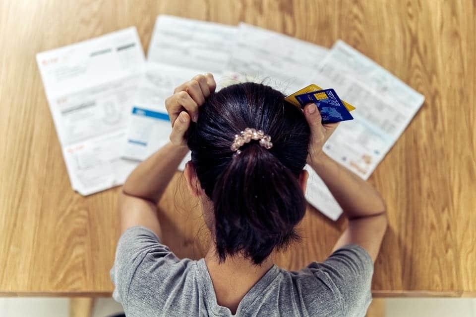 Kreditkartenabrechnung