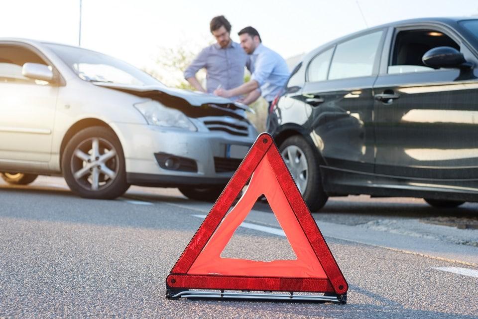Autounfall bei einer laufenden Autofinanzierung