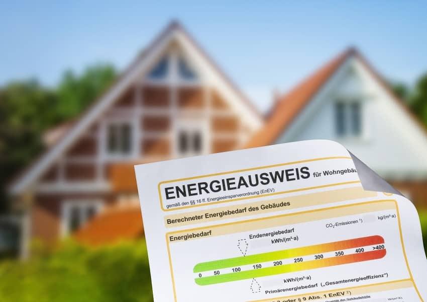 Energieausweis beim Haus